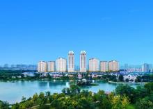 孔雀城大湖