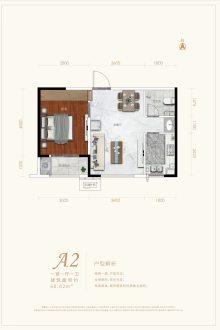 A2户型 60㎡一居