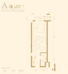 A1户型 43㎡一居