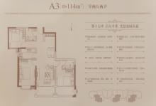 A3户型114㎡三居
