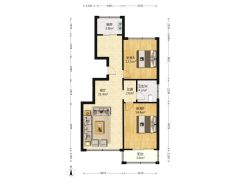 (固安)方城馨苑2室2厅1卫88万90m²出售