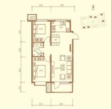 2室2厅1卫-C户型