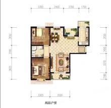 高层C户型 97㎡两居