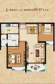 7#楼85㎡两居