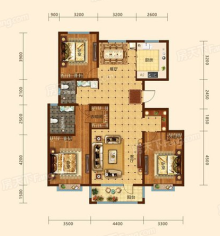 6#楼 142㎡三居
