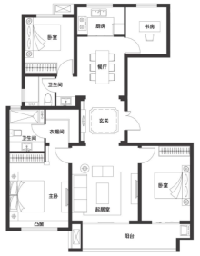 四室两厅两卫